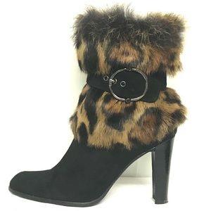 """Stuart Weitzman """"Go fur it"""" ankle boots"""